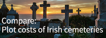 cost of a cemetery plot in ireland