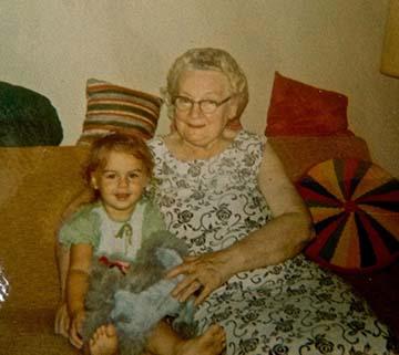 Val and Grandma Gladys