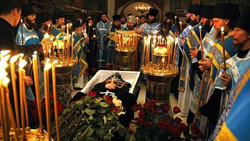 orthodox funeral service