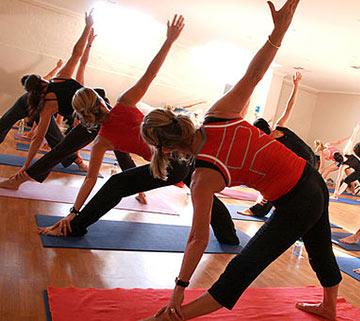 Yoga class at localfitness.com.au
