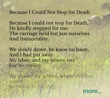aftering.com funeral poems |