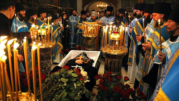 Orthodox funeral service by Иерей Максим Массалитин
