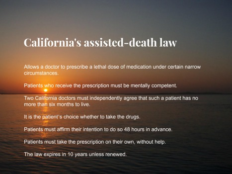 California's assisted-death law