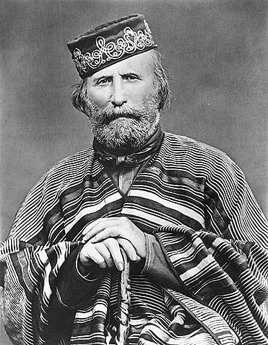 Giuseppe Garibaldi, 1866, photo from wikipedia, public domain