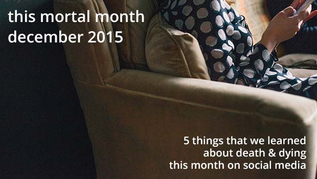 This mortal month, feature image, December 2015