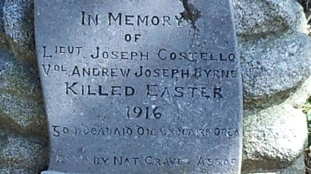 gravestone of joseph costello at deansgrange cemetery