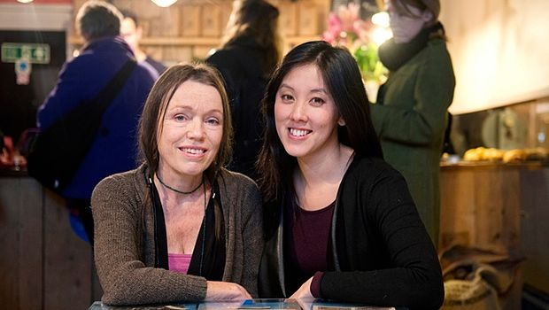 caroline dent and liz wong, photo by linda nylind