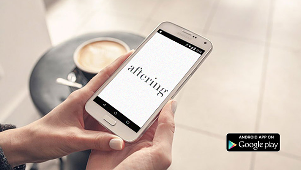 aftering app available from google play