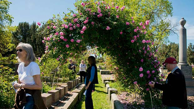 Blooms and tombs tours at Sacramento Old City Cemetery
