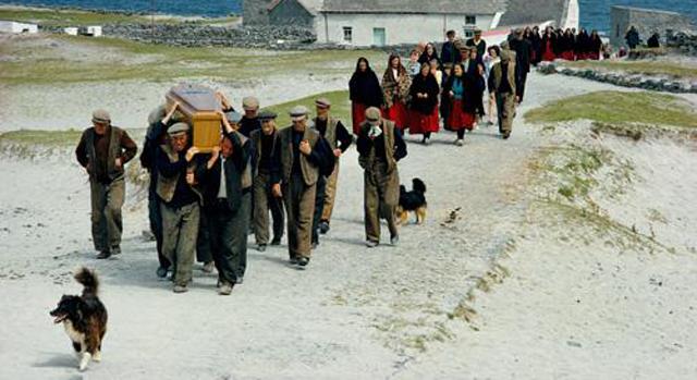 history of the irish funeral