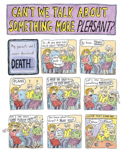 Roz Chast why can't we talk about something more pleasant 400x600