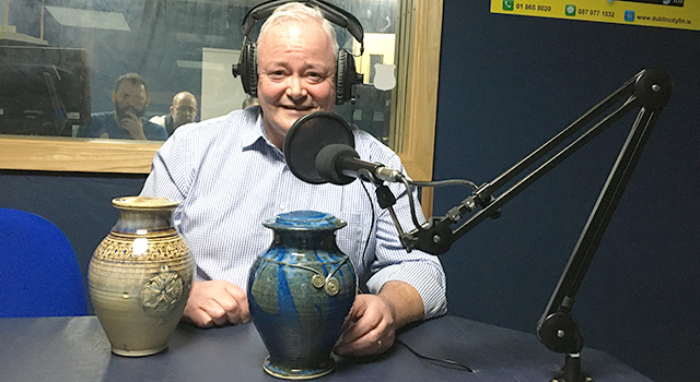 Bob Hamilton, founder Irish Urns
