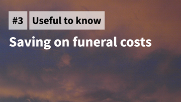 Saving on funeral costs