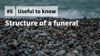 Structure of a funeral
